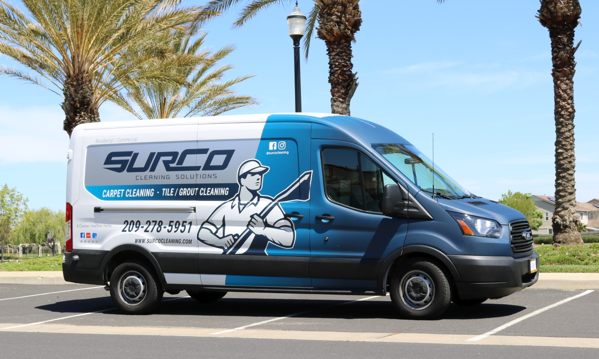 Surco Cleaning Service Truck